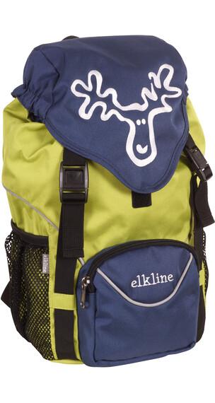 Elkline Tragichselbst rugzak Kinderen groen/blauw